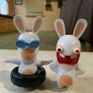 McDonalds Happy Meal Toys Raving Rabbids Rabbit Figures Lot Of 2 Ubisoft Rayman