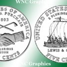 2004 S Jeff Nickel Proofs-Westward Journey* Both