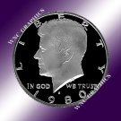 1980 S Kennedy Proof Half *Nice Cameo*