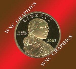 2007 S Sacagawea Proof *Indian Princess*