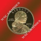 2003 S Sacagawea Proof *Indian Princess*