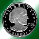 1980 S Proof Susan B. Anthony Dollar *Nice Coin*