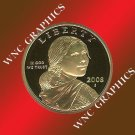 2008 S Sacagawea Proof *Indian Princess*
