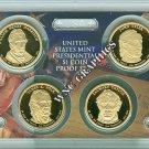 2009 S Presidential $ Proof Set-Harrison-Tyler-Polk-Tay