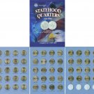 BU 50 State Quarter+DC & Territories Collection P Mint
