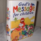 "Children's Book ""God's Message for Children""  Hardcover Daily Devotional Book"