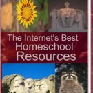 eBook:  The Best Internet Homeschool Resources  eBook  ONLY $1.00!  Free shipping international!