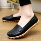 Genuine Leather Shoes Woman Soft Boat shoes for Women Flats shoes