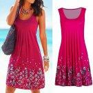Women Summer Boho Short Midi Dress