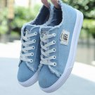 Sneakers Womenx 2020 Solid Lace-Up walking shoes Flat