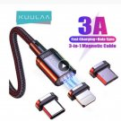 KUULAA Mobile Phone Charging Cable Magnetic Cable USB Type C