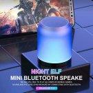 Wireless Bluetooth 5.0 Speaker Mini Audio-visual Loud speaker With Colorful Brea