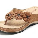 women sandals Flower Wedge ladies