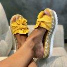 2020 Summer Fashion Sandalsx Shoes Women Bow Summer Sandals Slipper Indoor Outdo