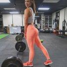 Hight Waist Fitness Leggings Women Workout Push Up Legging Fashion Solid Color B