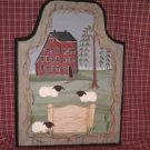 Primitive Folk Art Customized Sign