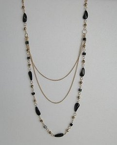 30-40 inch triple-strand necklace