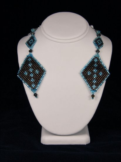 Brown Turquoise