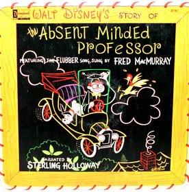 The Absent Minded Professor - Walt Disney Story Soundtrack LP/CD