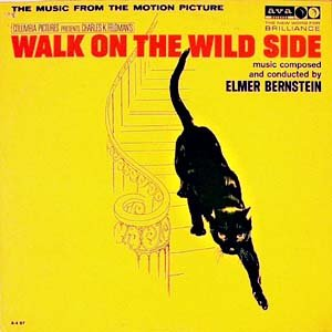Walk On The Wild Side - Original Soundtrack, Elmer Bernstein OST LP/CD