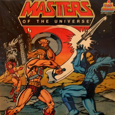 Masters Of The Universe - Story and Songs Soundtrack LP/CD