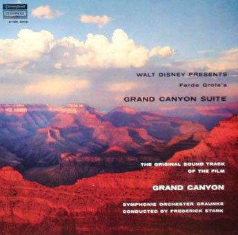Walt Disney presents the Grand Canyon Suite - Original Soundtrack, Ferde Grofe OST LP/CD