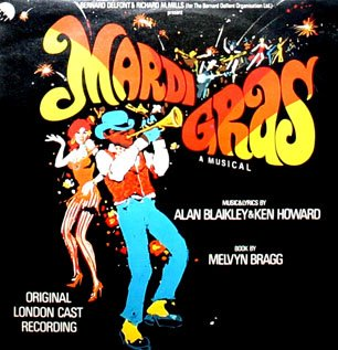 Mardi Gras, A Musical - Original London Cast Recording, Soundtrack LP/CD