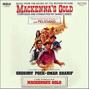 MacKenna's Gold - Original Soundtrack, Quincy Jones OST LP/CD