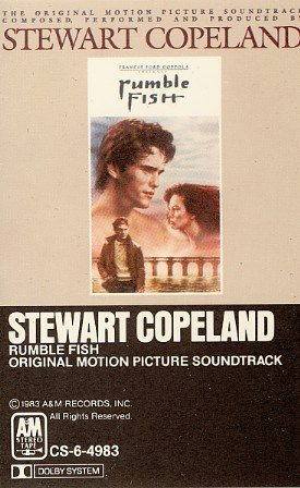 Rumble Fish - Original Soundtrack, Stewart Copeland OST Tape/CD