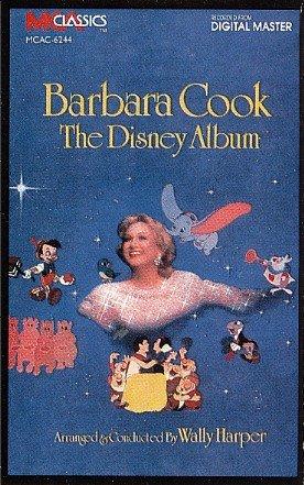 The Disney Album - Barbara Cook sings Disney music Tape/CD