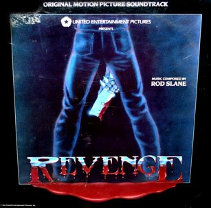 Revenge (1986) - Original Soundtrack, Rod Slane OST LP/CD