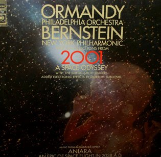 2001 A Space Odyssey / Aniara - Space Epics Soundtrack Collection, Ormandy & Bernstein LP/CD