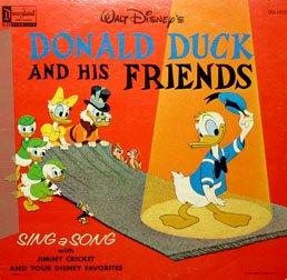 Donald Duck And His Friends - Walt Disney Soundtrack LP/CD