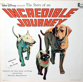 Incredible Journey - Walt Disney Story Soundtrack LP/CD