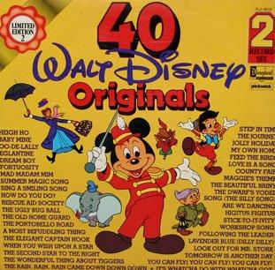 40 Walt Disney Originals - Import Soundtrack Collection, Limited Edition LP/CD