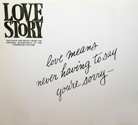 Love Story - Dialogue & Music Soundtrack, Francis Lai OST LP/CD