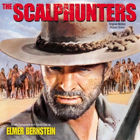 The Scalphunters - Original Soundtrack, Elmer Bernstein OST / Varese Sarabande CD Club