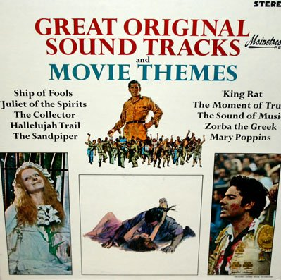Great Original Sound Tracks and Movie Themes - Soundtrack Collection LP/CD