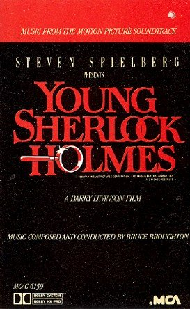 Young Sherlock Holmes - Original Soundtrack, Bruce Broughton OST Tape/CD
