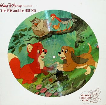 The Fox And The Hound - Walt Disney Story Soundtrack, Picture Disc LP/CD