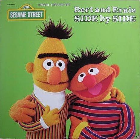 Side By Side: Ernie's Hits & Bert's Blockbusters - Sesame Street Soundtrack Tape/CD
