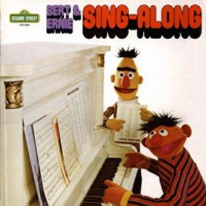 Bert & Ernie Sing-Along - Sesame Street Soundtrack Tape/CD and
