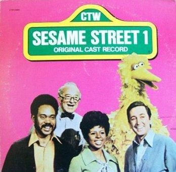 Sesame Street 1 - Original Cast Album (1974) Soundtrack LP/CD