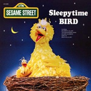 Sleepytime Bird Sesame Street Soundtrack Big Bird Lp Cd