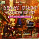 Great Piano Concertos and Their Composers - Walt Disney Music Collection LP/CD