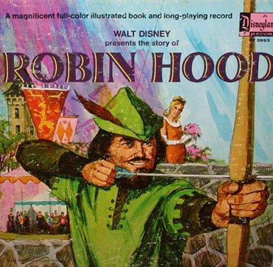 The Story Of Robin Hood - Walt Disney Soundtrack LP/CD