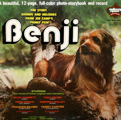 Benji - Original Story & Songs Soundtrack, Euel Box LP/CD