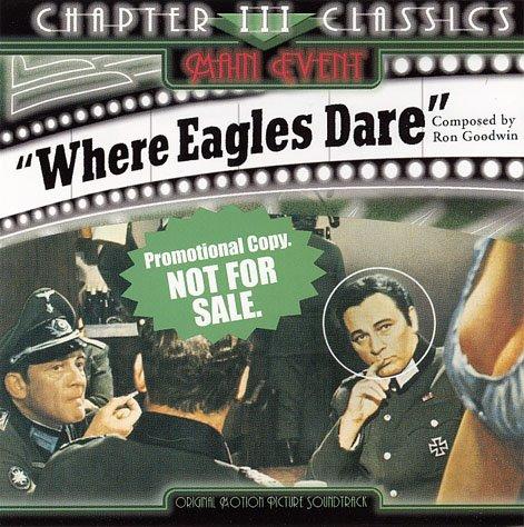 Where Eagles Dare Original Soundtrack Cd 2001 Ron