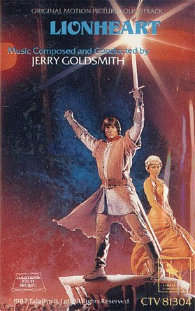Lionheart (Volume 1) - Original Soundtrack, Jerry Goldsmith OST Tape/CD