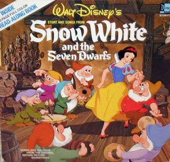 Walt Disney's Snow White and the Seven Dwarfs - Story & Songs Soundtrack LP/CD